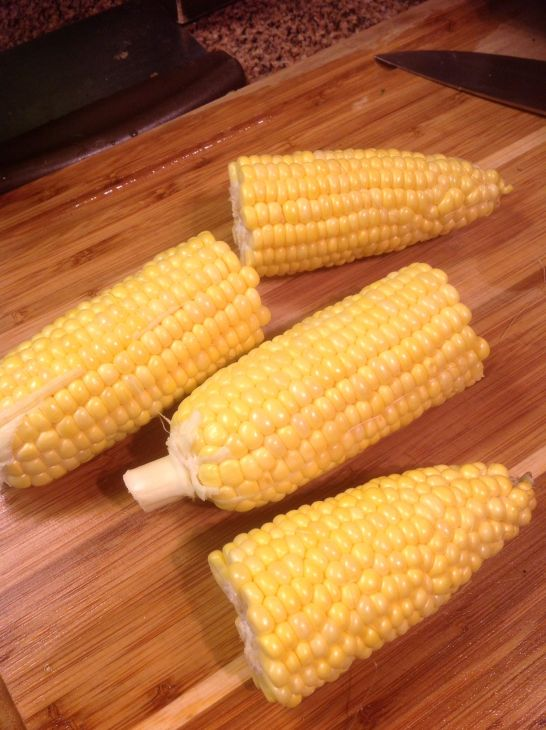 Corn is at its freshest - and sweetest - right away. The long it sits in your fridge, the less flavorful it becomes. Use it as soon as you can!