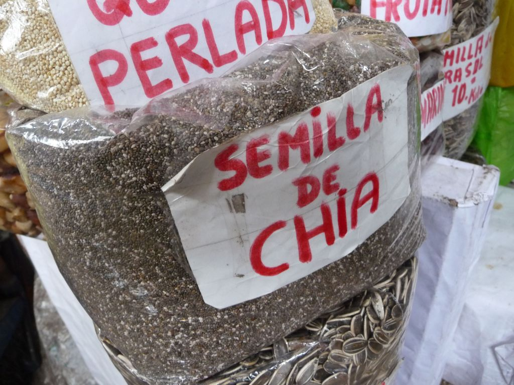 Chia seeds are a healthy source of plant-based protein, fiber, and Omega-3 fats. They originate in Peru