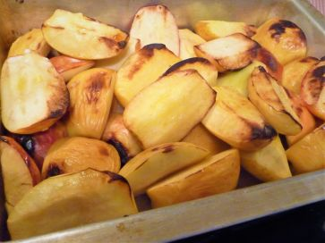You can do a big batch of apples at once. Just allow extra time for cooking.