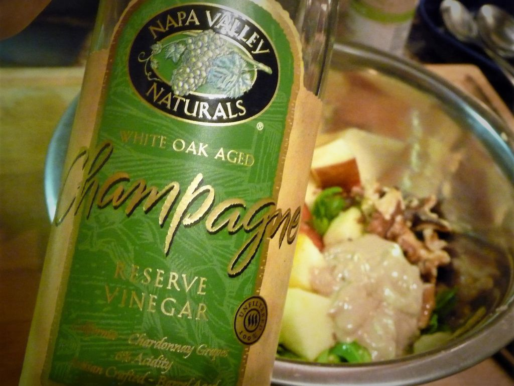 Champagne Vinegar: This clear vinegar provides a light, mild flavor and is not as harsh as other acids like white wine vinegar or lemon juice. You can use it in other recipes calling for these ingredients.