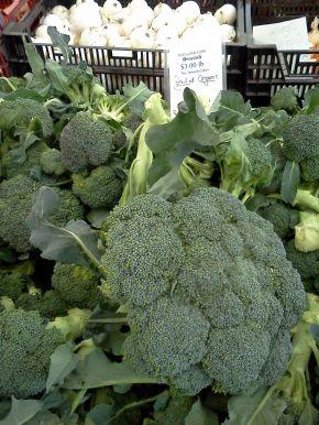 Broccoli at Austin Farmer's Market