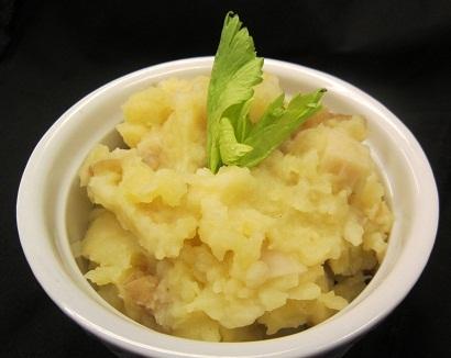 Celery Root Horseradish Mash