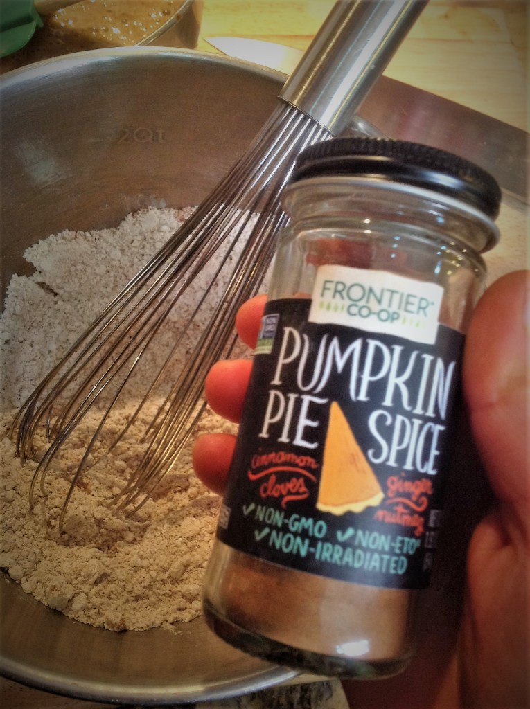 Pumpkin Pie Spice adds a pop of flavor with cinnamon, nutmeg, and ground clove