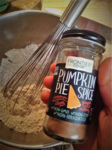 Pumpkin Pie Spice adds a pop of flavor with cinnamon, nutmeg, and ground clove