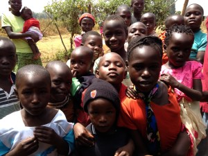 Kids at the Organics$Orphans Base in Kenya