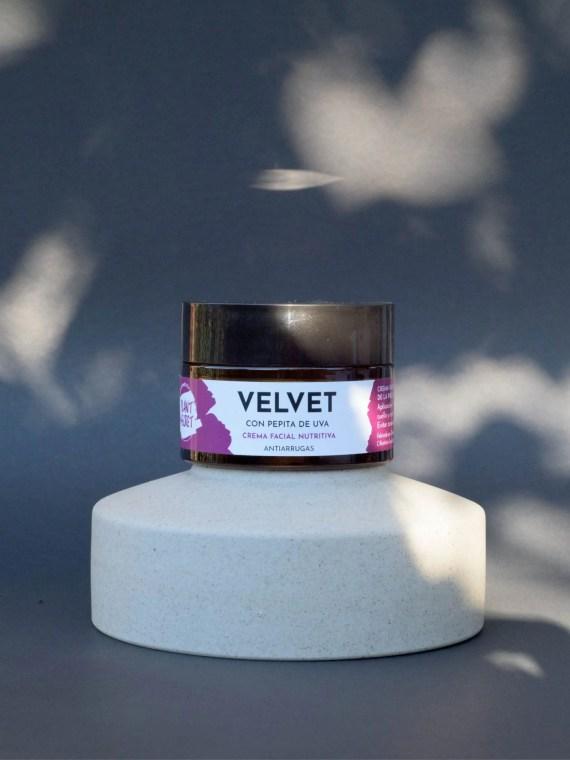 Crema Facial Velvet para piel secas