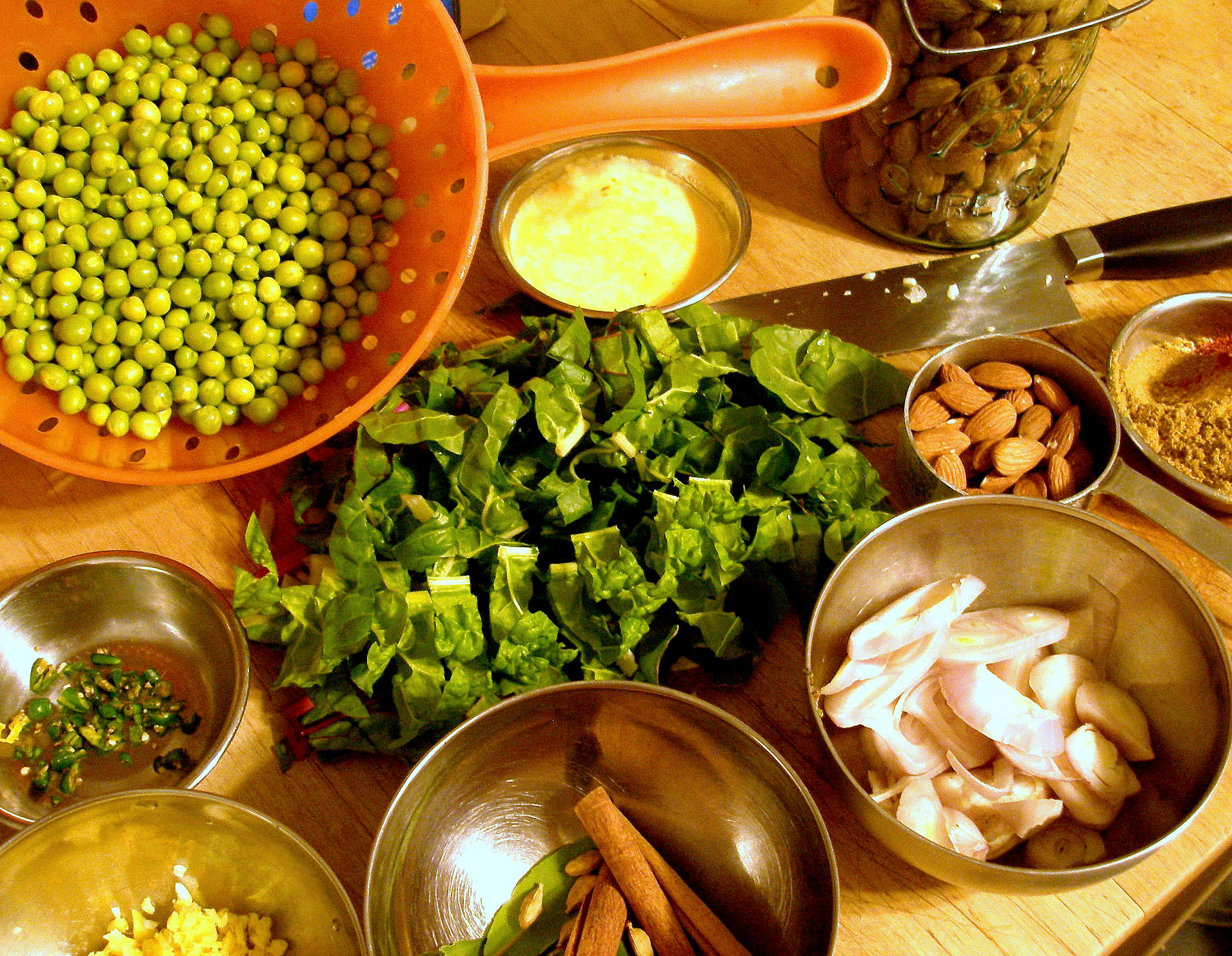 spring curry ingredients