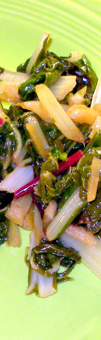 swiss chard with preserved lemons