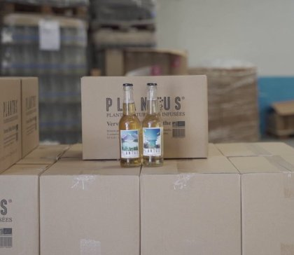 Production des boissons PLANTUS