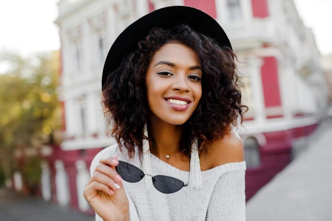 Simple Everyday Makeup for Dark Skin and Medium Dark Skin