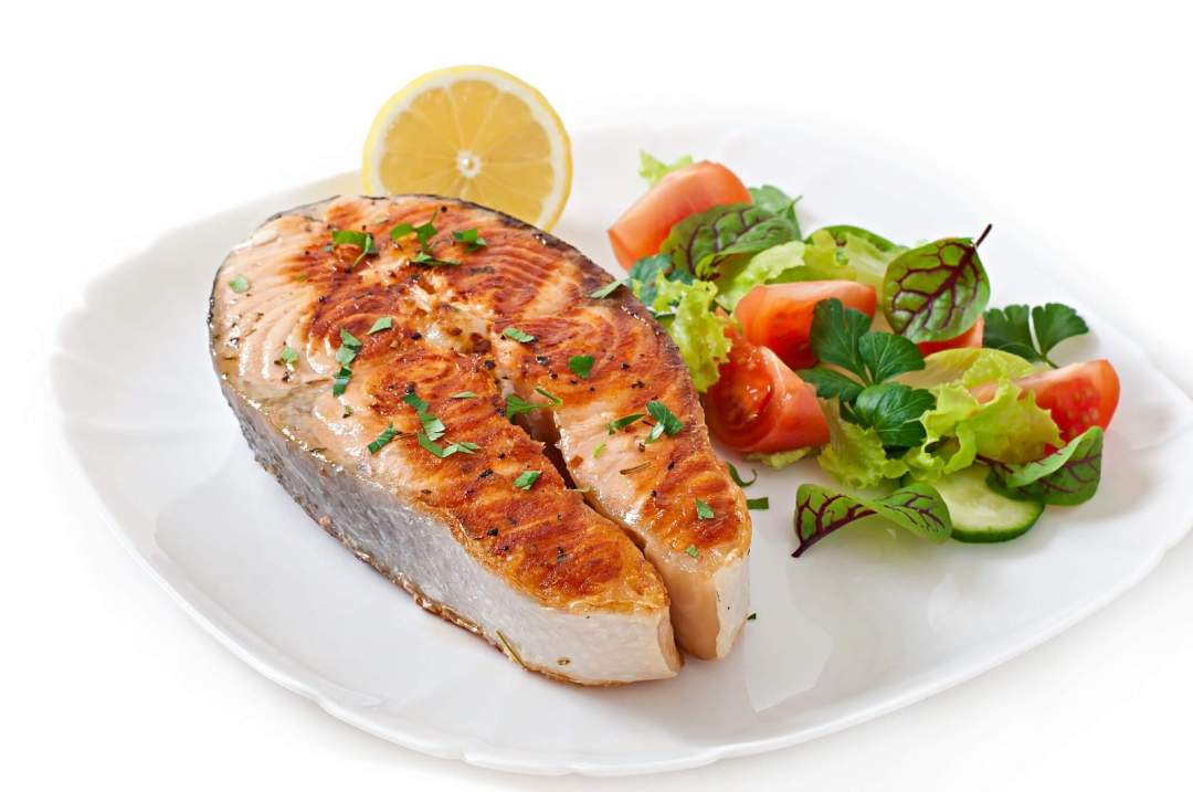 Meat, Chicken, Fish, 6 one-ounce portions or less a day