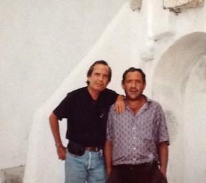 """""""Nos veremos amigo Paco"""". Foto de Alfonso Trulls"""