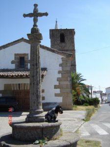 Iglesia parroquial de Guijo de Galisteo (Foto: SANDRA)