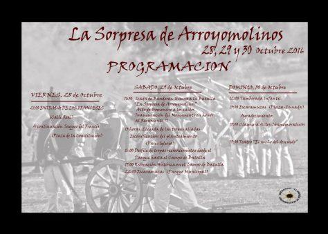 Programacion Batalla La Sorpresa Arroyomolinos 2016