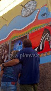 Zarza de Granadilla graffiti