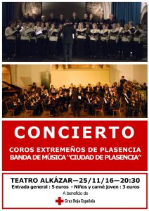 Concierto Coros Extremeños y Banda de Plasencia