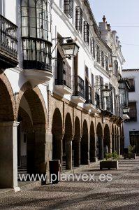 Plaza Grande en Zafra
