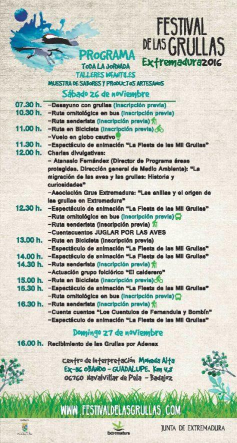 festival grullas programa