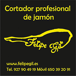 Felipe Gil cortador de jamón