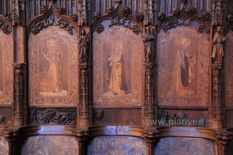 Coro Catedral de Plasencia Extremadura