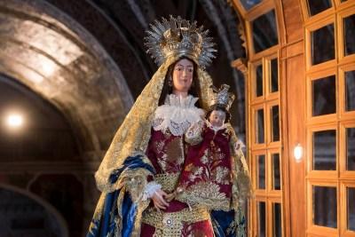 Virgen del Ara Fuente del Arco Extremadura