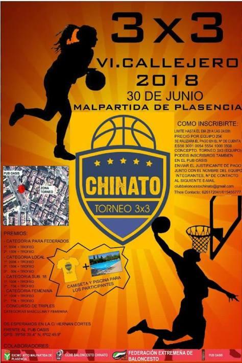 Torneo de baloncesto chinato 2018