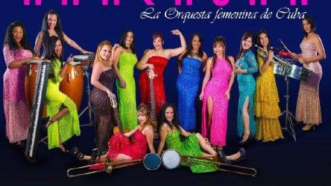 Anacaona la orquesta femenina de Cuba