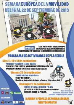 ruta ciclista en Plasencia