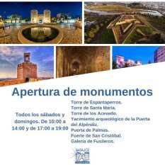 ciudad encendida badajoz apertura monumentos