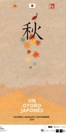 otoño japones esad cartel