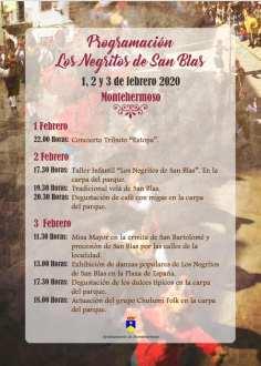 programa fiesta negritos san blas