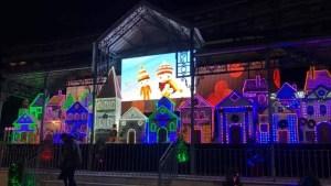 En Villanueva de la Serena hay hasta una ciudad de la Navidad, fotografía del ayuntamiento.