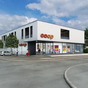magasin coop dans le projet de quartier