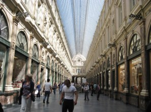 les galeries du roi - an elegant mall with a glass roof built by king leopold ii.