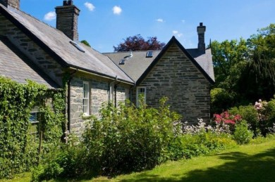 Old Bell House has a private garden to the rear with the hot tub