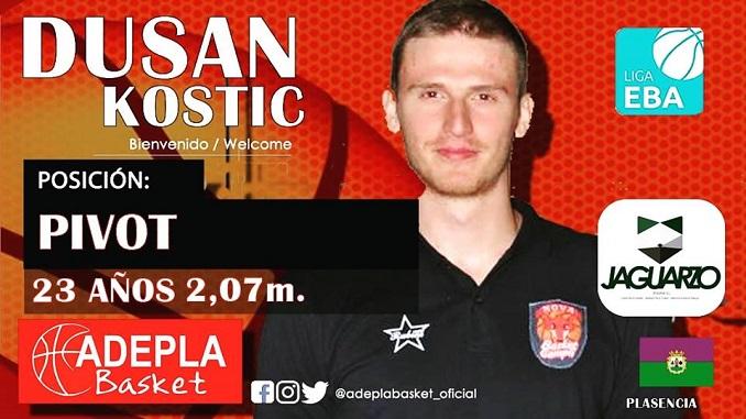 Dusan Kostic, el guardián de la zona JAGUARZO Adepla Basket