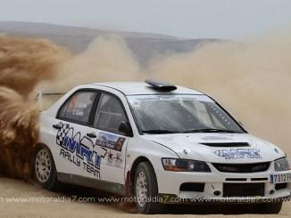 Segunda posición de Quijada y Canelo en el XX Rallye de tierra Isla de los Volcanes