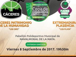 Final Copa de Extremadura de Baloncesto 2017