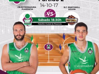 El Extremadura Plasencia recibe al CB Martorell (LEB Plata)