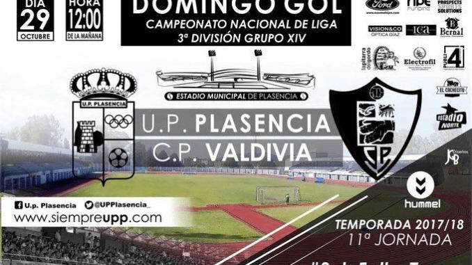 La UP Plasencia recibe al Valdivia sin confianzas