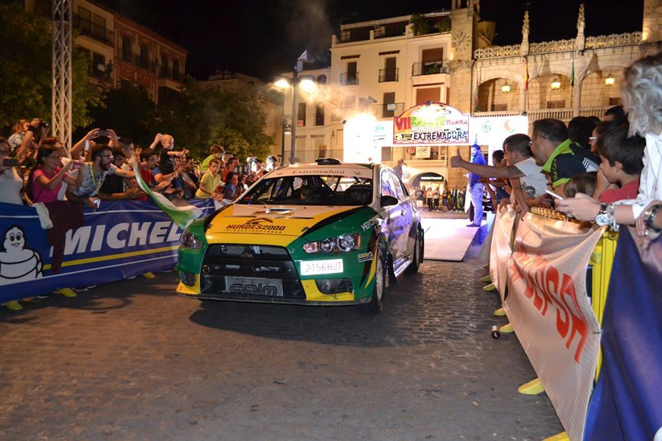 Presentado el VIII Rallye de Tierra Norte de Extremadura (2)