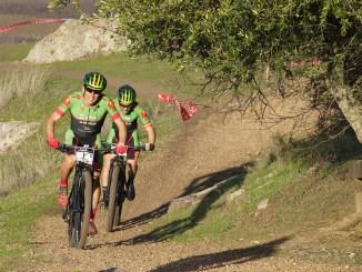 El placentino Pedro Romero y Dani Carreño se imponen con autoridad en la III Aquanex-Val Serena Bike Race
