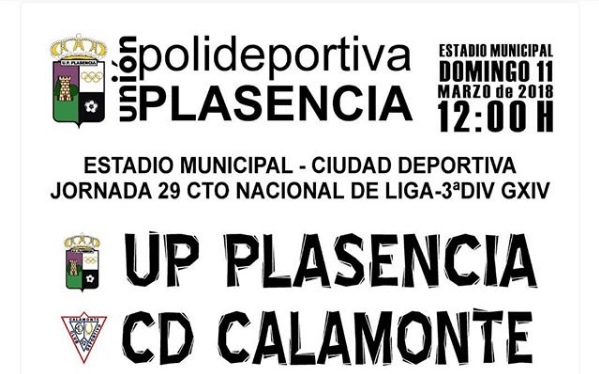 UP Plasencia - CD Calamonte