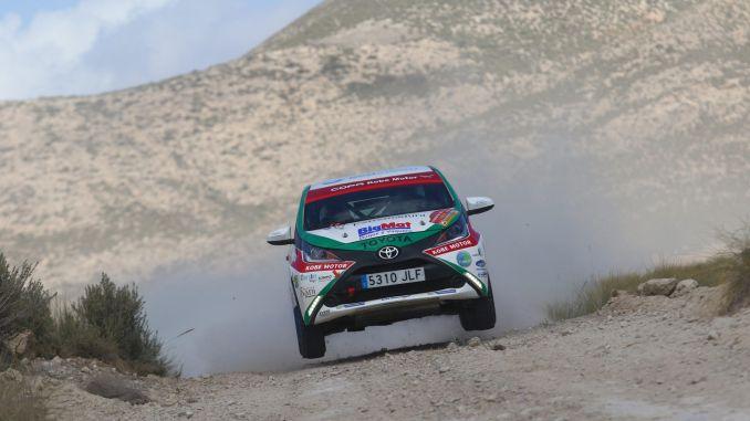 El placentino Paco Montes del ERT ultima los preparativos para el Rallye de Tierra Ciudad de Pozoblanco