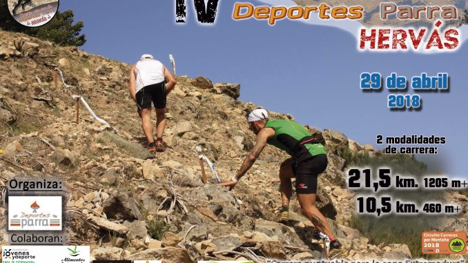Apertura inscripciones: IV Carrera por Montaña Deportes Parra de Hervás