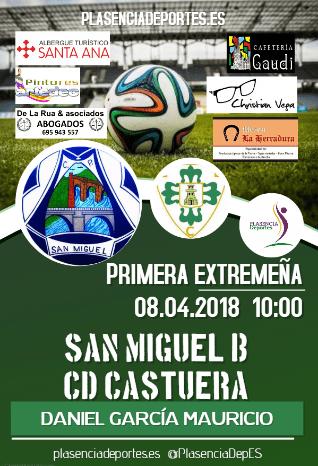 """CP San Miguel """"B"""" – CD Castuera"""