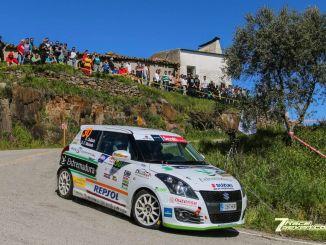 Quijada y Cuni quintos en la Suzuki Swift del Rallye Sierra Morena
