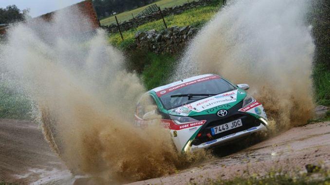 El placentino Francisco Montes y David Collado ganan el VI Rallye Ciudad de Pozoblanco en la copa Kobe Motor