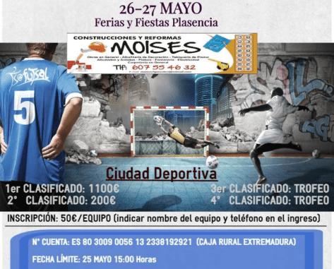 Las Ferias de Plasencia traen el III 24 horas de Fútbol Sala