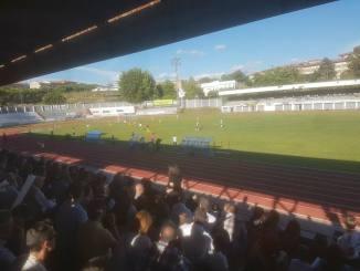 Duro castigo para una UP Plasencia que pagó ante el Club Portugalete la diferencia de eficacia (1-2)